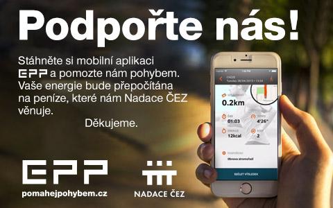 50 000 díky aplikaci EPP od Nadace ČEZ