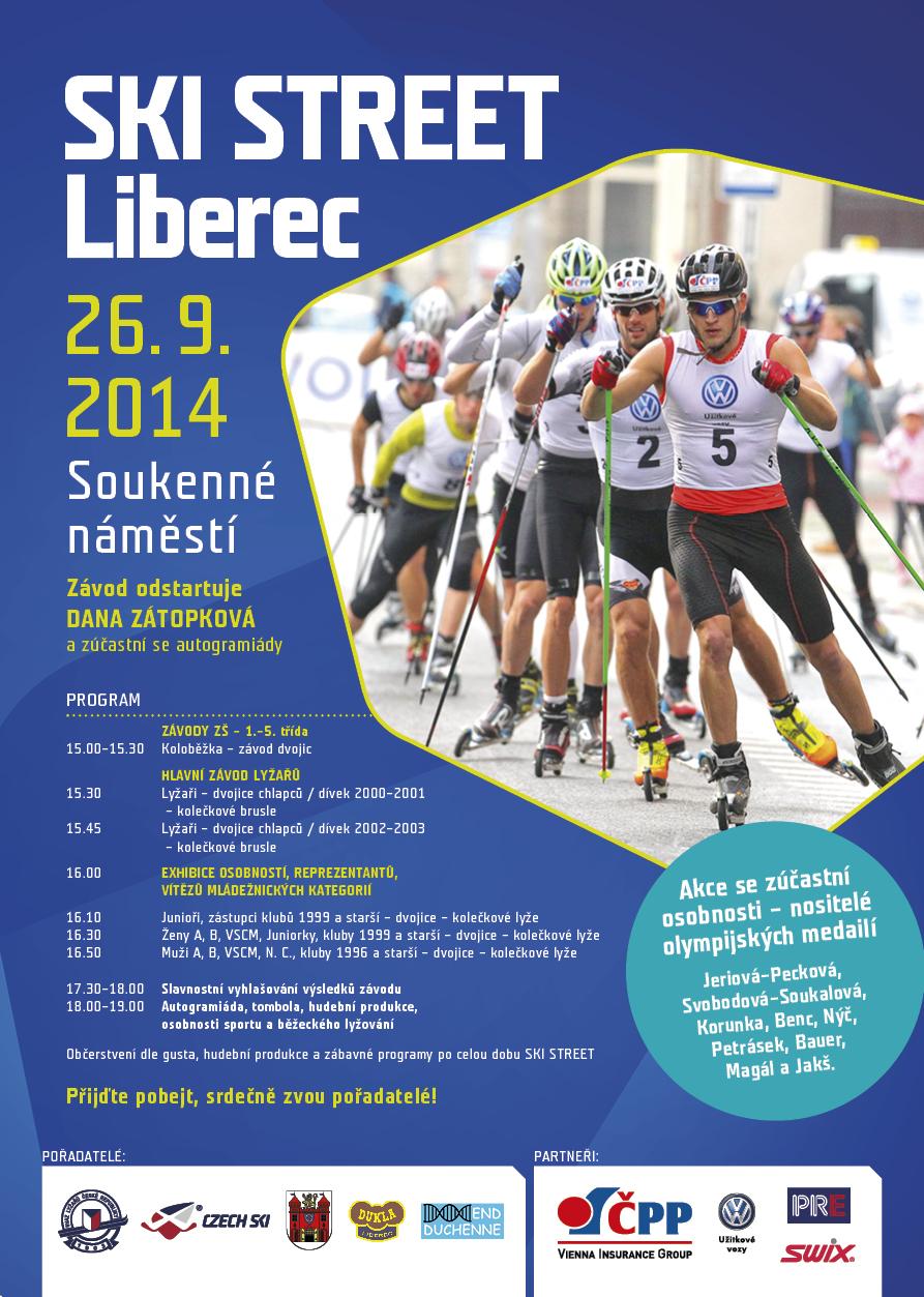 Jedeme s vámi až do cíle - Ski Street Liberec
