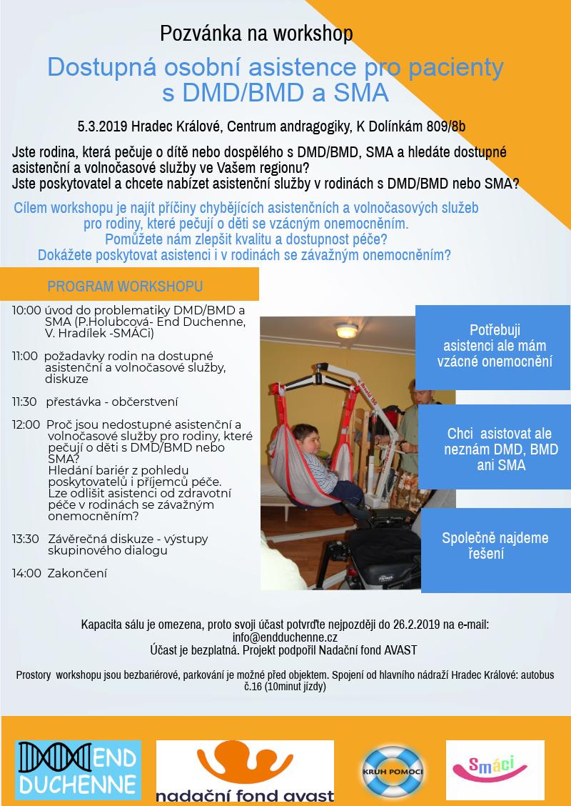 Workshop 5.3.2019 - Hradec Králové